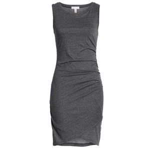 Nordstrom jersey rouched dress | XS